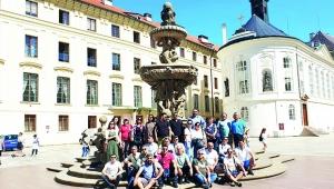 Prag'dan başarıyla döndüler