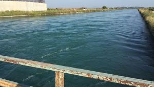 Sulama kanalına düşen kardeşler kurtarıldı