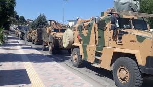Suriye sınırındaki askeri birliklere komando sevk edildi