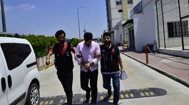 Suriyeli şahsın aracından 5 kilo esrar çıktı