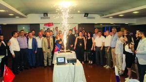 Yaşar Kara habercilikte 48. yılını dostlarıyla kutladı