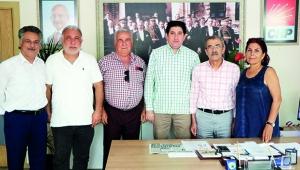 Yerel Medya Güçbirliği Platformu'ndan CHP'ye ziyaret