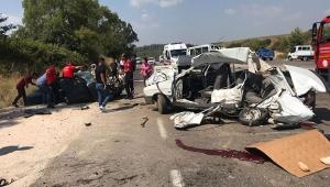 Zincirleme kaza : 1 ölü, 7 yaralı