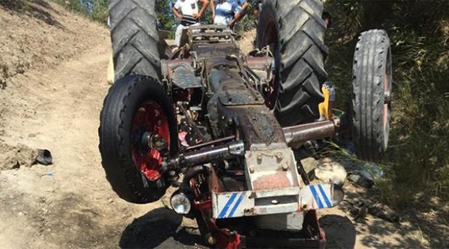 15 yaşındaki genç traktörün altında can verdi