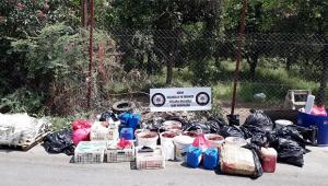 Adana'da kaçak nargile tütünü operasyonu
