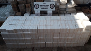 Adana'da nargile tütünü ve etil alkol operasyonu