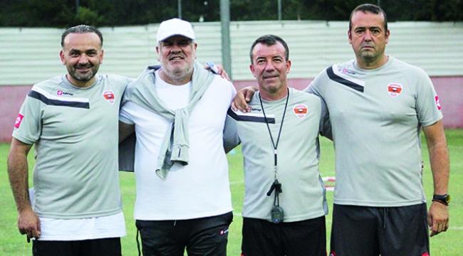 Adanaspor'un sezonunda görev yapacak teknik ekibi belli oldu