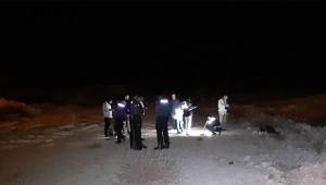 Boş bir arazide erkek cesedi bulundu