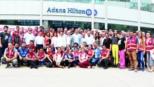 CHP'den grevdeki işçilere ziyaret