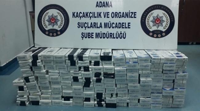 Durdurulan otomobilden bin 490 paket kaçak sigara çıktı