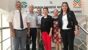 İş Teftiş Adana Grup Başkanlığı müfettişleri ÇİSAM'ı ziyaret etti