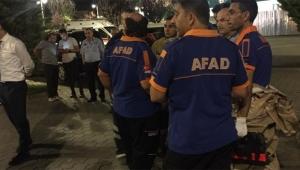 Kimyasal gaz sızıntısı şüphesi AFAD'ı harekete geçirdi