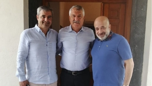 Sancak'tan Başkan Karalar'a ziyaret