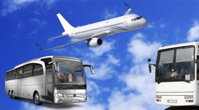 Uçak biletleri tükendi 5 milyon yolcu otobüs kullanacak