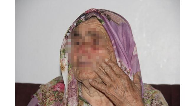 80 yaşındaki kadına tecavüze kalkışıp dövdü
