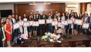 Adana Barosu'na 15 avukat daha katıldı