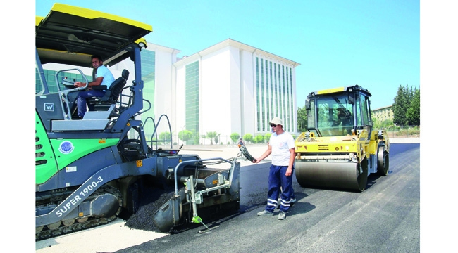 Adana'nın dört bir yanı asfaltla buluşuyor