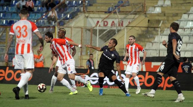 Adanaspor galibiyeti kaçırdı:3-3