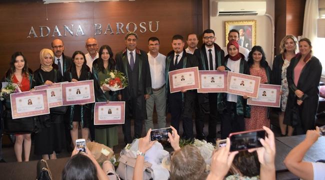 Baroya 11 yeni avukat daha katıldı