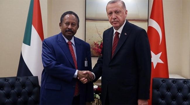 Erdoğan, Sudan Başbakanını Kabul Etti