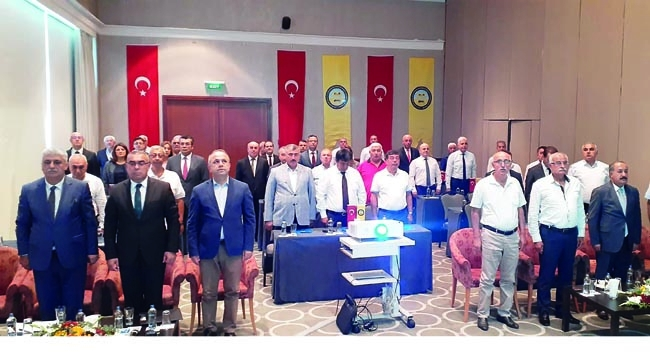 Esnaf kooperatifi başkanları istişare toplantısında buluştu