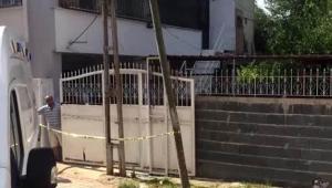 Evin çatısından düşen yaşlı kadın öldü