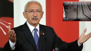 Kemal Kılıçdaroğlu'na yumurtalı saldırı düzenlendi
