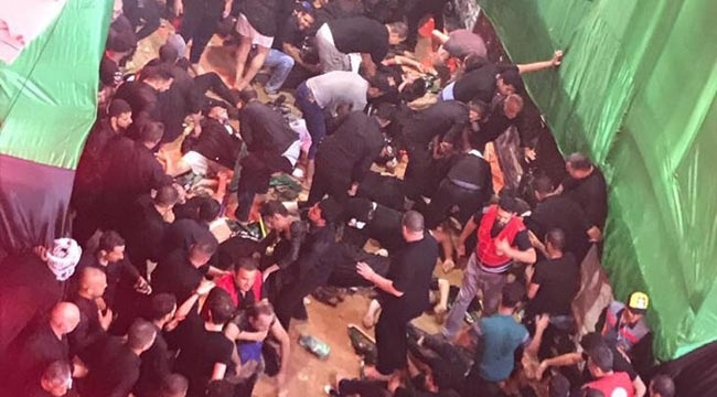 Kerbela'daki Aşure günü etkinliklerinde facia: En az 31 ölü