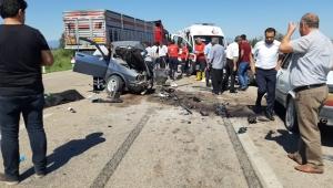 Zincirleme trafik kazası: 3 ölü, 4 yaralı