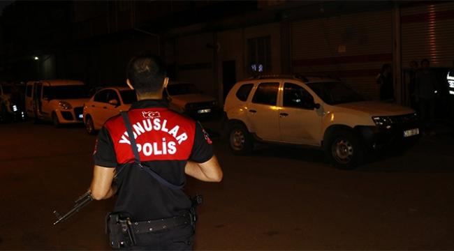 150 polisle suçlulara şafak vakti baskın