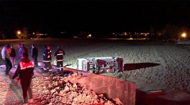 Askeri araç kaza yaptı: 2'si ağır 26 asker yaralı
