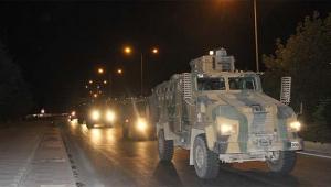 Askeri birlikler üs bölgelerine hareket etti
