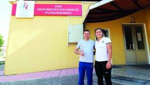Ataşbak'tan, Milli Sporcuya ziyaret