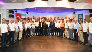 Başkan Uludağ, Sarıçamlı muhtarlarla buluştu