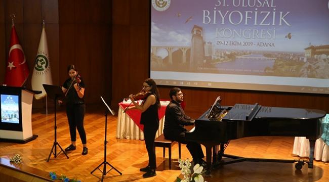 Ç.Ü. 31. Ulusal Biyofizik Kongresine ev sahipliği yaptı