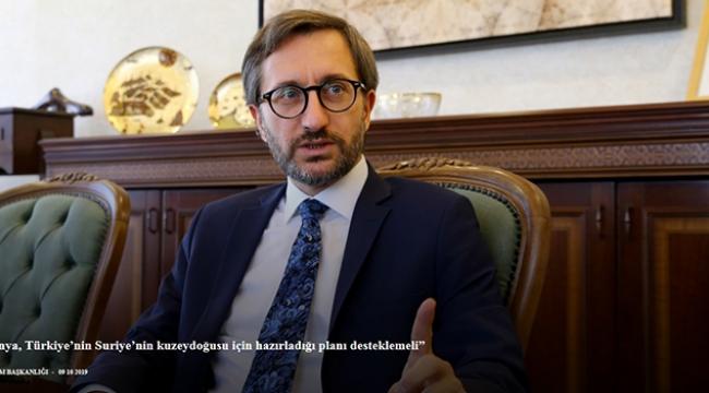 'Dünya, Türkiye'nin Suriye için hazırladığı planı desteklemeli'
