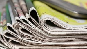 Gazete tirajları yüzde 50'ye yakın azaldı