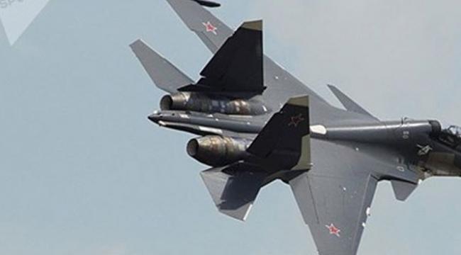 Hava Kuvvetlerine ait Rus yapımı uçak düştü