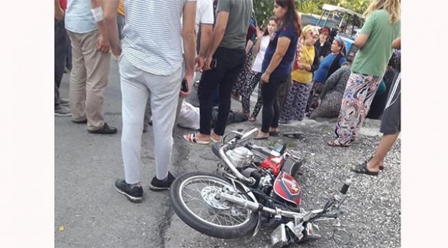 İki motosiklet çarpıştı 1 ölü 1 yaralı