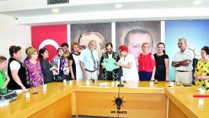 Kazakistan heyetinden Başkan Güler'e ziyaret