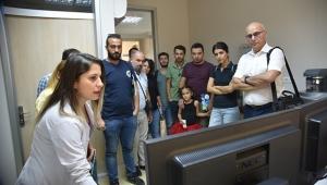 Sanayi Kuruluşlarının Ar-Ge çalışanları ÇÜMERLAB'taydı