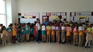 Şehit Zeki Dağ İlkokulu'ndan uluslararası düzeyde iki proje