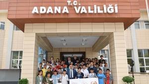 Vali Demirtaş, Şanlıurfalı öğrencilere ev sahipliği yaptı