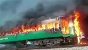 Yolcu treninde yangın! Çok sayıda ölü var
