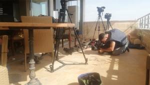 YPG'den gazetecilerin bulunduğu yere saldırı