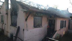 2 çocuk evde yanarak can verdi