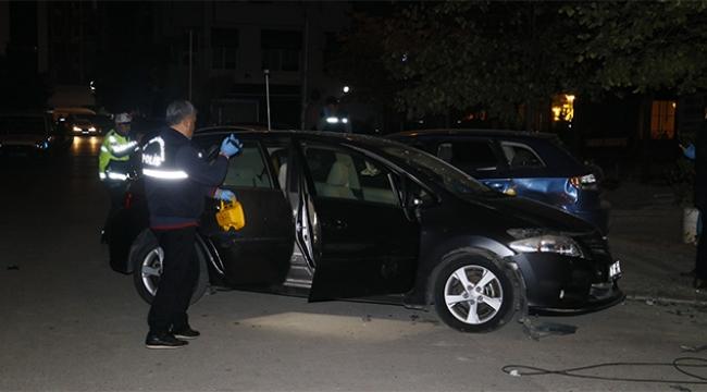 Adana'da sokak ortasında bomba patladı
