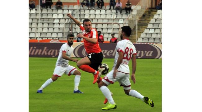 Adanaspor, Boluspor'u elinden kaçırdı:0-0