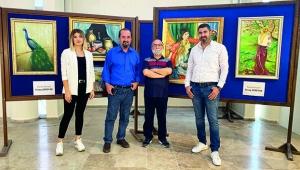 Akdeniz Bakışlı Adam'ı tablolarında yaşatıyor