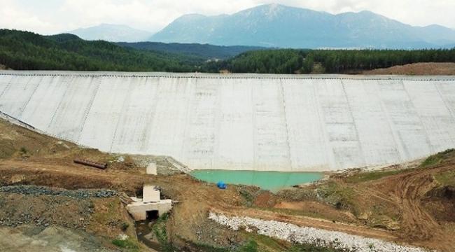 Aladağ Kasımlı Barajı'nda sona gelindi